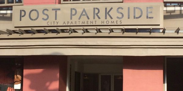 Post Parkside Entrance