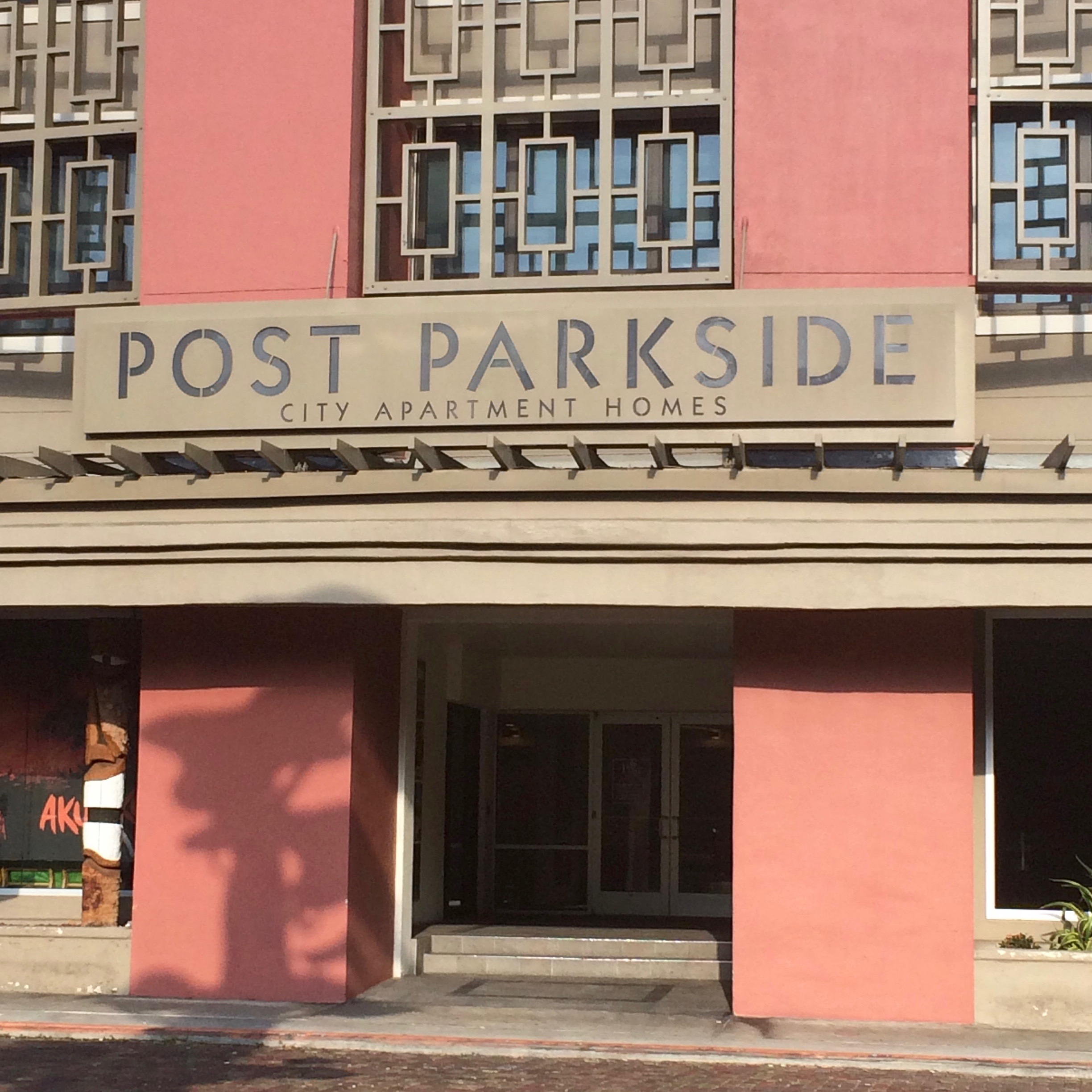 Post Parkside Entrance