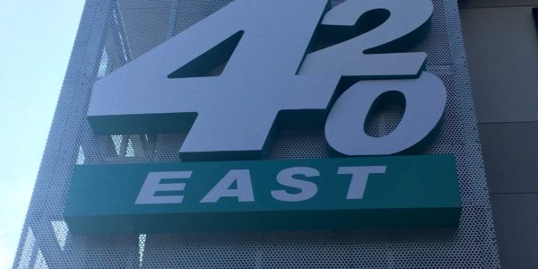 420 East Sign