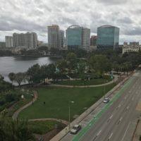 Downtown Orlando Post Hurricane